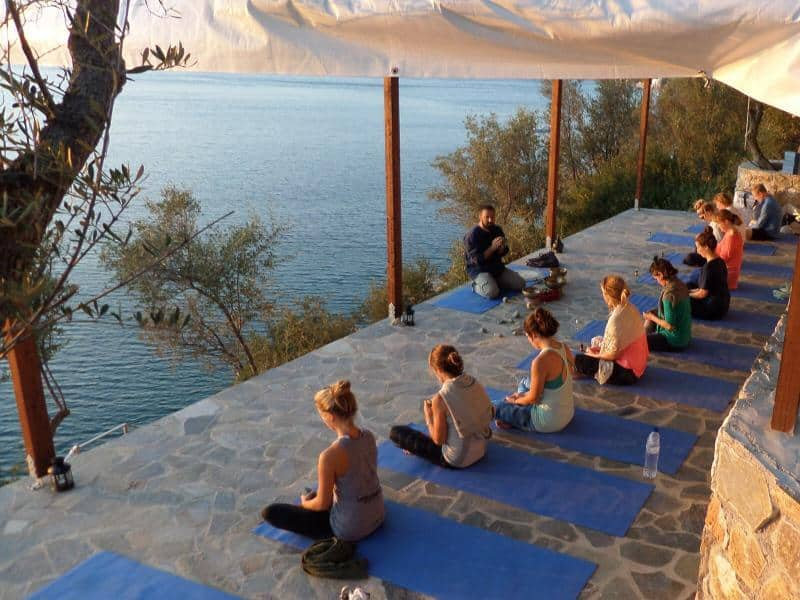 yoga holiday