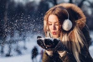 hot girl winter