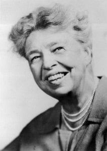 Eleanor Roosevelt Image: jimnicar.com
