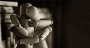 dolls hugging
