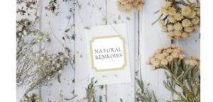 dried flowers natural remedies