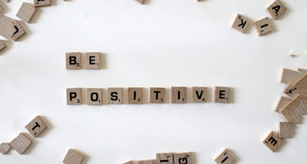 be positive in alphabet