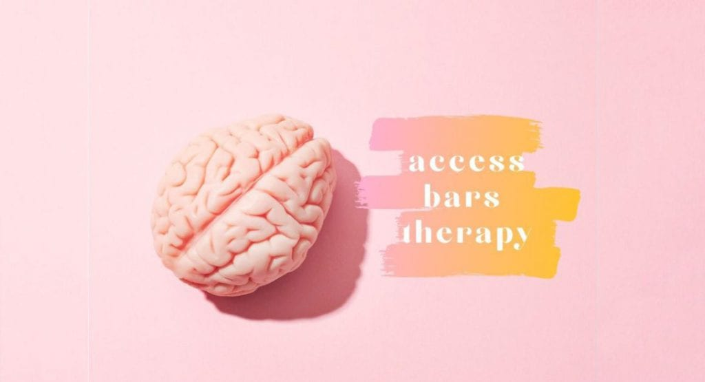 pink brain and access bars therapy