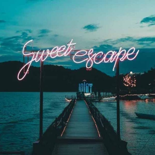 sweet escape in neon