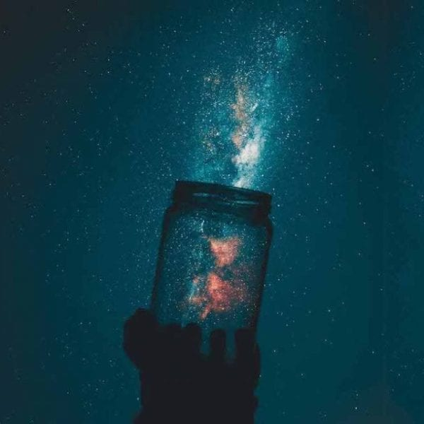 catching the Northern lights in a jar