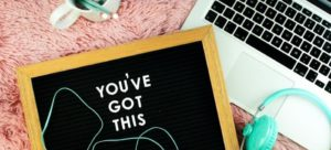 you've got this on black board