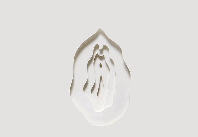 white paper vagina