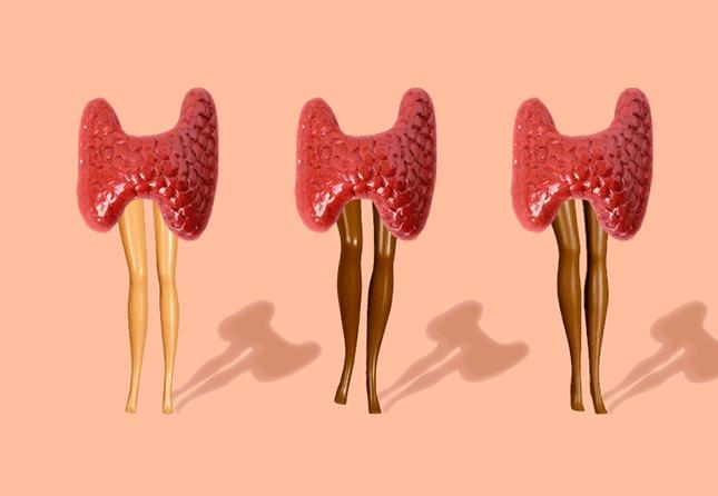 thyroid with barbie legs